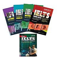 Combo trọn bộ General Lelts Mike + tài liệu luyện thi nói IELTS- the IELTS speaking ( tặng sổ tay)