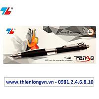 Hộp 10 cây bút bi 0.7mm Thiên Long - TL047 màu đen