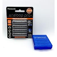 Pin Sạc AA Eneloop Pro 2550 mAh Made In Japan Kèm Hộp Bảo Quản - Hàng Chính Hãng ( Panasonic Phân Phối Trực Tiếp )