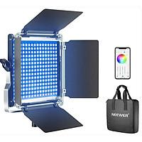Đèn led quay phim chụp ảnh Neewer 660 RGB hàng chính hãng.