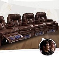 Sofa 4 ghế 5 tay vịn thông minh cao cấp nhập khẩu S-8337M
