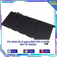 Pin dành cho Laptop Dell XPS 13 9350 90V7W JD25G - Hàng Nhập Khẩu