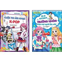 Combo 2 Cuốn: Smart Girls -Tớ Sẽ Trở Thành Trưởng Nhóm Được Mọi Người Yêu Mến + Cuộc Thi Âm Nhạc K-Pop