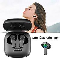 Tai nghe Bluetooth không dây TWS Tai nghe MINI Tai nghe HD trong tai siêu trầm Tai nghe thể thao âm thanh nổi - Hàng Chính Hãng PKCB