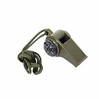 Còi thổi đa năng có dây đeo cổ tích hợp la bàn và nhiệt kế dùng đi phượt, du lịch, cứu hộ