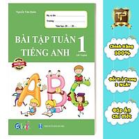 Sách - Bài Tập Tuần Tiếng Anh dành cho học sinh lớp 1 - Cả năm (1 cuốn)