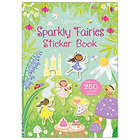 Sparkly Fairies Sticker Book (Sparkly Sticker Books)
