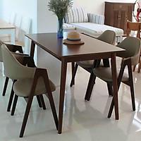 Bộ bàn ăn 4 ghế chữ A