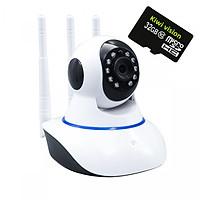 Camera Kiwivision 3 râu 1.0 kèm thẻ nhớ 32G - Hàng chính hãng