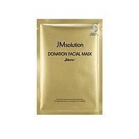 Mặt Nạ Tinh Thể Vàng Ngừa Lão Hóa JM Solution Donation Facial Mask Save 30ml