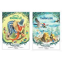 Combo 2 cuốn chuyện rừng: Những Ông Khổng Lồ + Thần Lùn ( Bộ chuyện vui nhộn,đầy màu sắc dành cho các bé)
