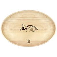 Đĩa gỗ oval Gỗ Đức Thành