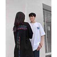 Áo thun in tay lỡ nữ freesize phông form rộng dáng Unisex - Ulzzang mặc cặp, nhóm, lớp chữ THE TRUTH UNTOLD BTS