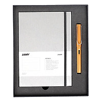 Gift Set Lamy Notebook A5 Softcover Grey + Lamy Al-Star Bronze - GSNAl009