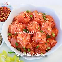 Sriracha Salmon Poke - 300gr (hộp)