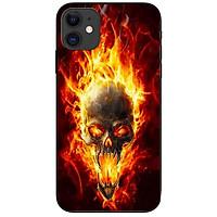 Ốp lưng dành cho Iphone 12 Mini mẫu Quỷ Lửa