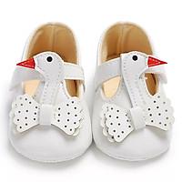 Giày tập đi cho bé gái 0-18 tháng hình thiên nga đáng yêu – TD1