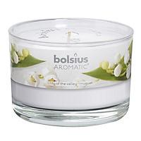 Ly nến thơm Bolsius Lily of the Valey BOL6440 440g (Hương hoa ly)