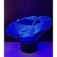 Đèn ngủ 3D - Ô tô công thức 1 có công tắc cảm ứng