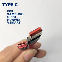 Dây cáp sạc nhanh EC060 Iphone, Samsung, Typec, micro - dây xạc bọc dù dài 1m, cáp sạt ip5/6/7/8/x/11/12 xạc nhanh không kén máy - Hàng chính hãng Earldom