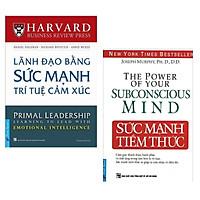 Combo 2 Cuốn Sách Tư Duy - Kỹ Năng Sống: Lãnh Đạo Bằng Sức Mạnh Trí Tuệ Cảm Xúc + Sức Mạnh Tiềm Thức (Tái Bản) / Bộ Những Cuốn Sách Tư Duy Hay Nhất - Tặng Kèm Bookmark Happy Life
