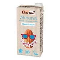 Nước Hạnh Nhân Nguyên Chất Calcium Hữu Cơ Ecomil (1L)