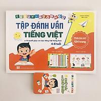 Sách - Tập đánh vần Tiếng Việt (Bí quyết giúp con đọc tiếng Việt thông thạo 4-6 tuổi) Tặng Kèm Thẻ Ghép Vần