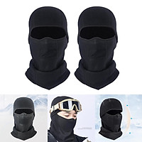 Multifunctional Ski Mask Winter Balaclava Windproof Breathable Face Mask for Cold Weather Parent for Men Women
