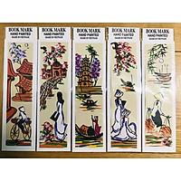 Mỹ nghệ Thanh Toàn - Kẹp sách giấy dó màu 3 - Combo 5 Cái