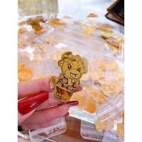 Miếng dán điện thoại năm con trâu hình trâu vàng - đem đến may mắn - sung túc - làm ăn thuận lợi cho giá chủ trong năm 2021