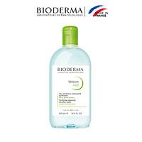 Dung Dịch Làm Sạch Và Tẩy Trang Công Nghệ Micella Bioderma Sebium H2O - 500ml