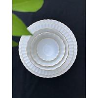 Bộ bát đĩa 5 món - Cotton - Erato - Hàng nhập khẩu Hàn Quốc