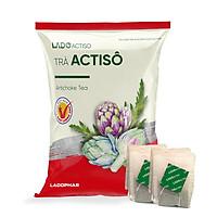 Trà atiso Ladophar gói 100 túi lọc tặng 2 túi trà actiso Premium Ladophar giúp mát gan thông mật lợi tiểu