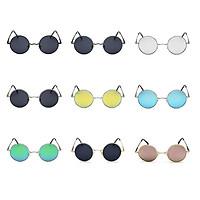 Retro Classic Polarized Light Sunglasses Round Sunglasses with UV Protection