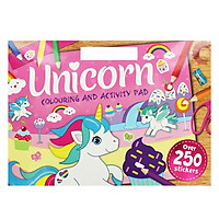 Unicorn Colouring and Activity Pad