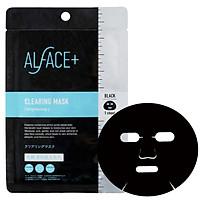 Mặt Nạ Than Tre Siêu Dưỡng Ẩm Nhật Bản Alface Clearing Mask, Se Khít Lỗ Chân Lông, Làm Sáng Da, Bảo Vệ Da Với 17 Loại Axit Amin, Tinh Chất Nhau Thai, Vitamin C, E, Chiết Xuất Lên Men