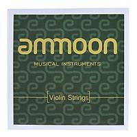 Bộ Dây Đàn Violin Bằng Thép Ammoon (3/4 & 4/4) (Dây G D A E)