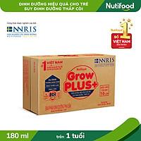 Thùng 48 hộp Sữa Bột Pha sẵn GrowPLUS+ Suy Dinh Dưỡng 180ml