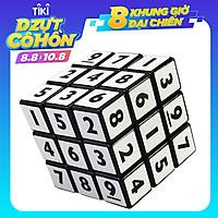 Khối Thông Minh Tốc Độ Cao Mini 3x3x3, Khối Sáng Tạo Magic Cube, Đồ Chơi Phát Triển Trí Tuệ, Quà Tặng Cho Trẻ Em - Màu Đen
