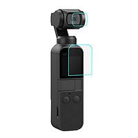 Kính cường lực màn hình LCD và Camera cho DJI OSMO POCKET Puluz - Hàng chính hãng