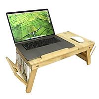 Bàn laptop gỗ đa năng tiện lợi - TẶNG SỔ A7