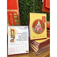 Lịch để bàn thiết kế Phật Giáo Nhật Bản - Mừng Xuân Đại Lạc 2021 - Kích Thước 17cm x 23 cm