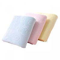 Bộ 3 khăn tắm Nhật siêu mềm siêu thấm - khăn tắm khổ rộng 70x140