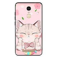 Ốp Lưng Viền TPU cho điện thoại Xiaomi Redmi Note 3 - Cat 12