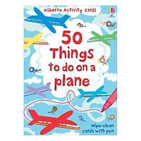 Flashcards tiếng Anh - Usborne 50 things to do on a plane