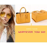 Túi Đẹp - Túi Công sở - Túi đựng cả thể giới - Màu Vàng - size lớn - YZ920344 - Yellow