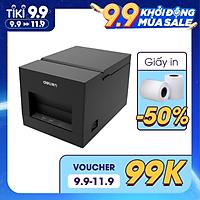 Máy in nhiệt Deli DL-581PS - Phù hợp cho hóa đơn, bill cửa hàng, siêu thị dùng giấy in nhiệt K58mm - Hàng chính hãng