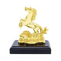Tượng Ngựa phong thủy mạ vàng – Linh vật cho người tuổi Ngọ - 12CGN