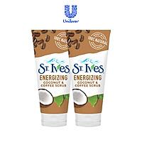 Combo 2 Sữa rửa mặt tẩy tế bào chết Cafe và Dừa St.Ives Energizing Coconut & Coffee Scrub (170g x 2)