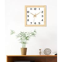Đồng hồ gắn tường PENTAZ thân gỗ kiểu dáng hiện đại, phong cách bắc Âu.
